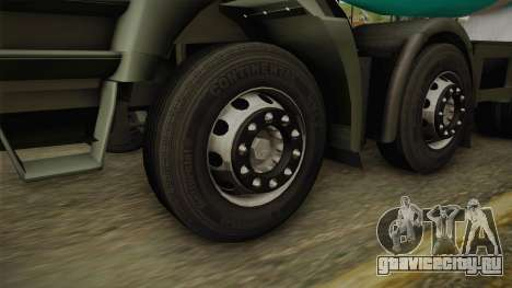 Iveco Trakker Hi-Land Cement Mixer 8x4 v3.0 для GTA San Andreas вид справа