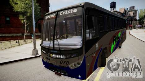 Marcopolo Ideale 770 для GTA 4 вид справа