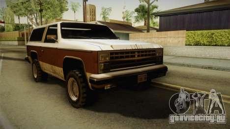 Chevrolet Blazer K5 Rancher Style для GTA San Andreas