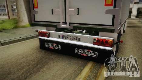 Iveco Eurotech 400E34 Tandem v2.0 Trailer для GTA San Andreas вид изнутри