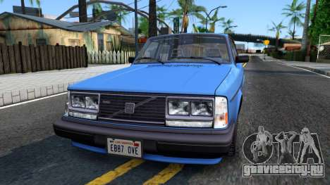 Volvo 244 Turbo 1983 для GTA San Andreas