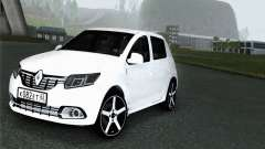 Renault Sandero для GTA San Andreas