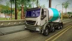 Iveco Trakker Hi-Land Cement Mixer 8x4 v3.0 для GTA San Andreas
