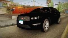 Vapid Interceptor 2013 Unmarked для GTA San Andreas