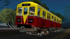 Вагон типа ЭКА 009 для GTA San Andreas