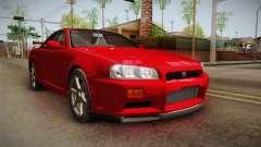 Nissan Skyline Tunable Pro Street v2 для GTA San Andreas