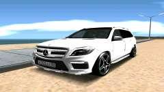 Mercedes-Benz GL63 AMG для GTA San Andreas
