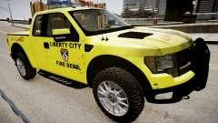 Ford Raptor SVT Department Lifeguard для GTA 4