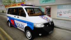Volkswagen Transporter Turkish Police для GTA San Andreas