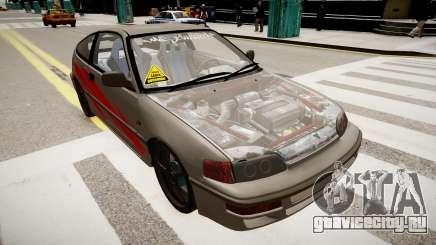 Honda CRX 1992 для GTA 4
