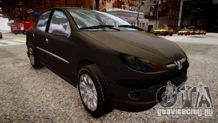Peugeot 206 SD для GTA 4