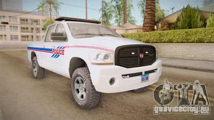Dodge Ram 2008 Union Pacific Railroad PD для GTA San Andreas