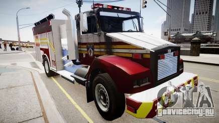Новая пожарная машина T5 для GTA 4