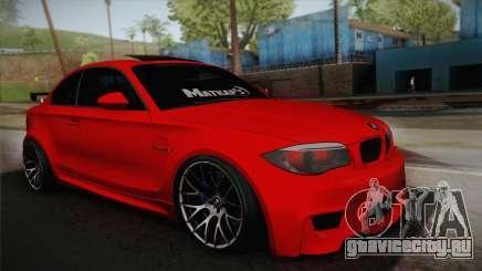 BMW M1 E82 для GTA San Andreas