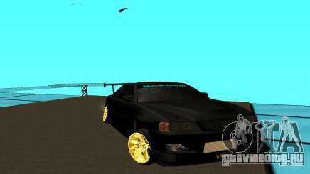 Toyota Chaser JZX 100 чёрный для GTA San Andreas