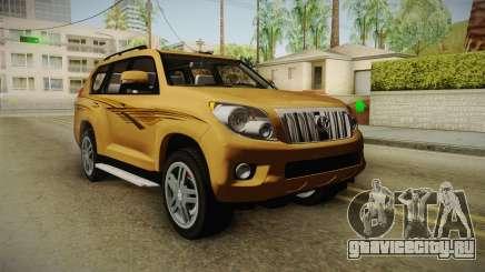 Toyota Land Cruiser Prado 2012 для GTA San Andreas