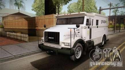 GTA 5 Brute Stockade IVF для GTA San Andreas