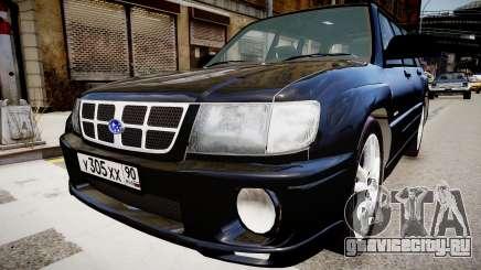 Subaru Forester 1997 v1.0 для GTA 4