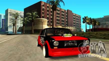 ВАЗ 2102 красный для GTA San Andreas