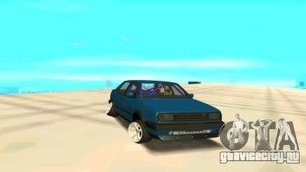Volkswagen Jetta бирюзовый для GTA San Andreas