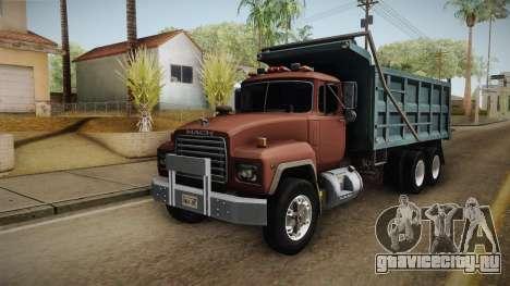 Mack RD690 Dumper 1992 v1.0 для GTA San Andreas