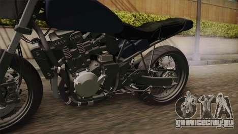Custom Bike для GTA San Andreas вид сзади