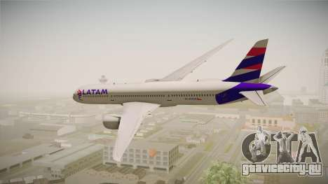 Boeing 787 LATAM для GTA San Andreas вид слева