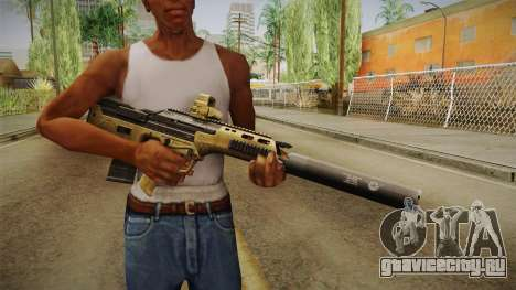 DesertTech Weapon 2 Silenced для GTA San Andreas третий скриншот