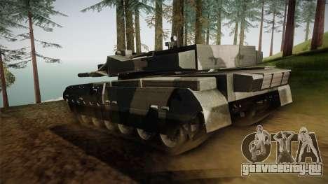 T-84-120 Yatagan для GTA San Andreas вид сзади слева