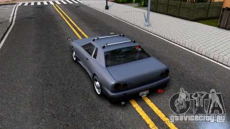 Elegy JDM для GTA San Andreas вид сзади