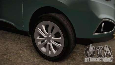 Hyundai Tucson 2015 для GTA San Andreas вид сзади