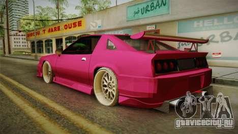Racing Buffalo v1.0 для GTA San Andreas вид слева