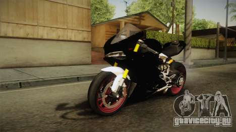 Ducati 1299 Panigale S 2016 Anniversary для GTA San Andreas