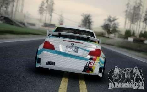 BMW 135i E82 Coupe для GTA San Andreas вид сзади слева