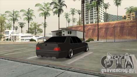 Brabus 7.3s для GTA San Andreas вид слева