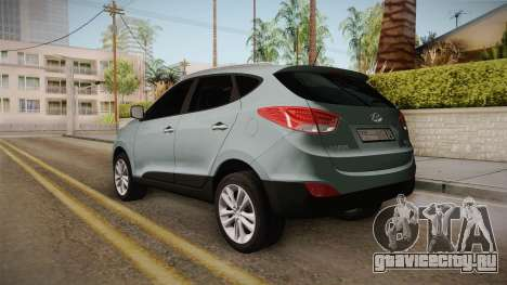 Hyundai Tucson 2015 для GTA San Andreas вид слева