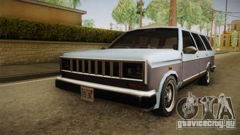 Bobcat Station Wagon для GTA San Andreas вид справа