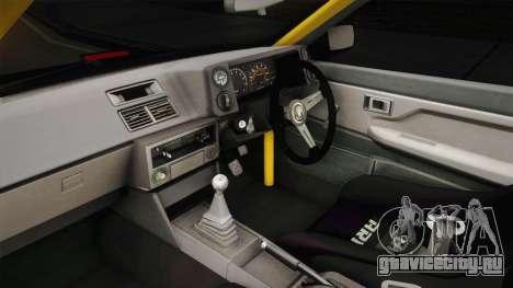 Toyota Corolla GT-S Drift для GTA San Andreas вид изнутри