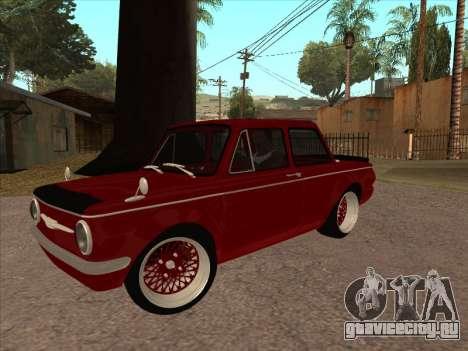 ZAZ SLRR для GTA San Andreas вид сзади слева