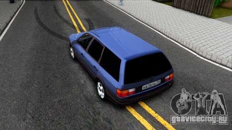 Volkswagen Passat B3 Wagon для GTA San Andreas вид сзади