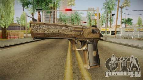Desert Eagle 50 AE Gold для GTA San Andreas