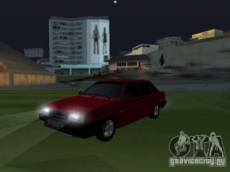 VAZ 21099 Armenian для GTA San Andreas