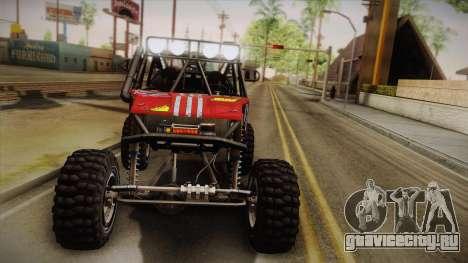 Dune Buggy Bill для GTA San Andreas вид сверху