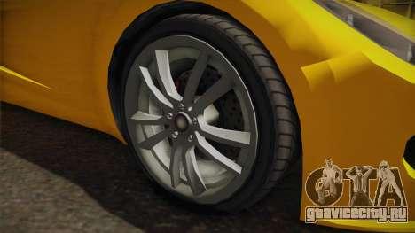 GTA 5 Coil Rocket Voltic для GTA San Andreas вид сзади