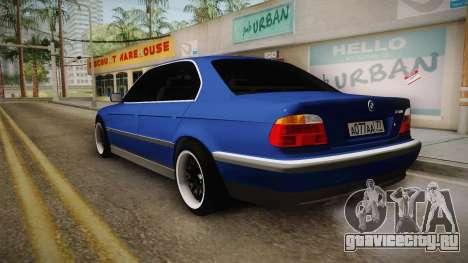BMW 730d E38 для GTA San Andreas вид слева