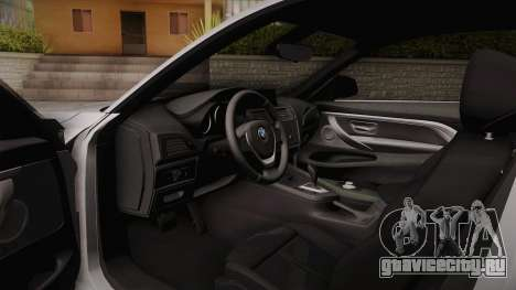 BMW M2 2017 для GTA San Andreas вид сверху