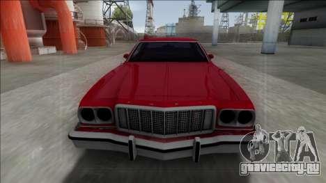 1975 Ford Gran Torino для GTA San Andreas вид справа