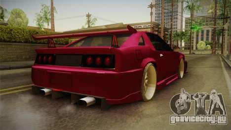 Racing Buffalo v1.0 для GTA San Andreas вид сзади слева