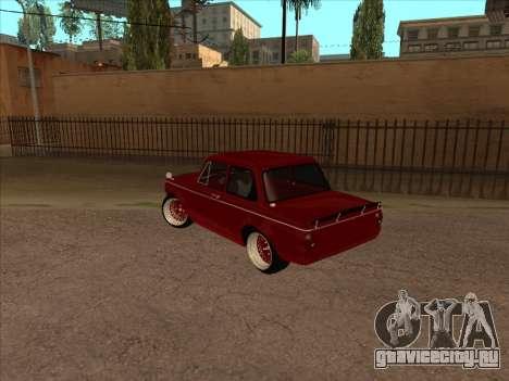 ZAZ SLRR для GTA San Andreas вид сзади