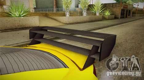 GTA 5 Annis Elegy RH8 Custom для GTA San Andreas вид изнутри